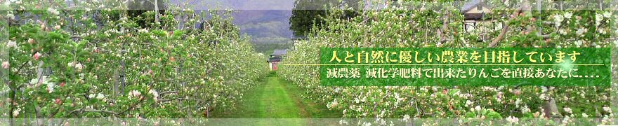 私たちは、自然に優しい農業を目指します